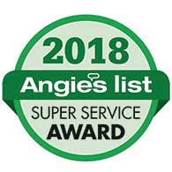 Angie's List Service Award Winner 2018