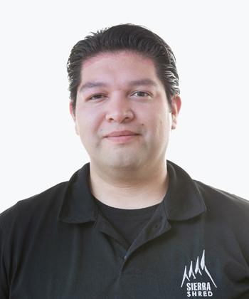 rick-aguilar sierra shred employee